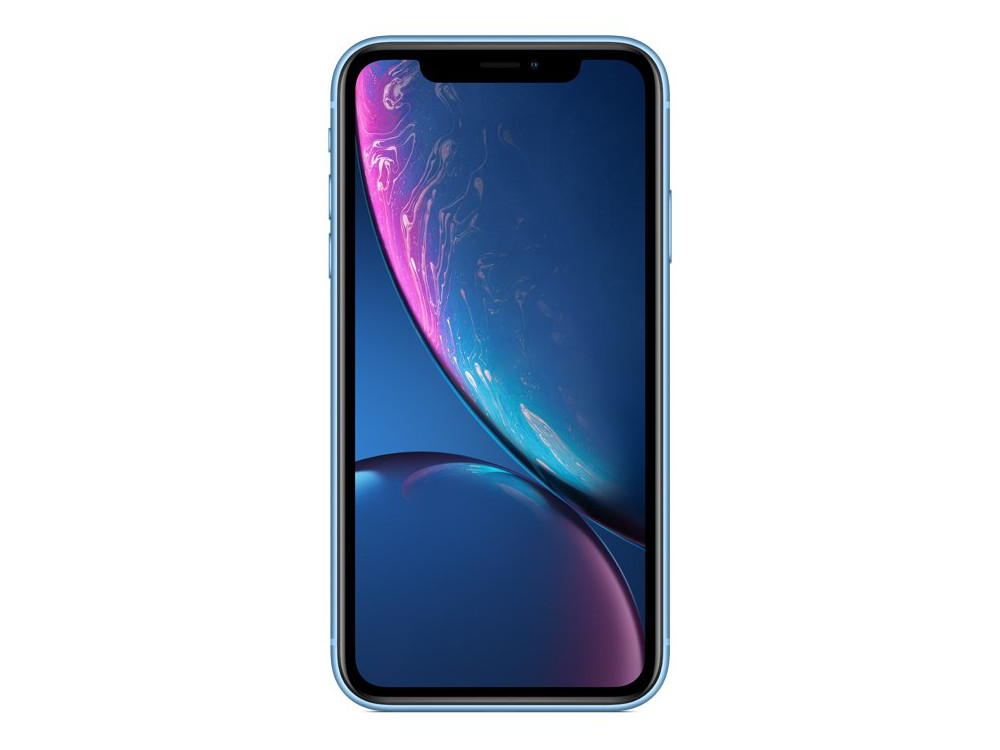 цена на Смартфон Apple iPhone XR 64GB Blue (MRYA2RU/A) Apple A12 Bionic / 3GB / 64GB / 6.1 1792x828 Retina IPS / 12Mp, 7Mp / 3G / 4G LTE / iOS