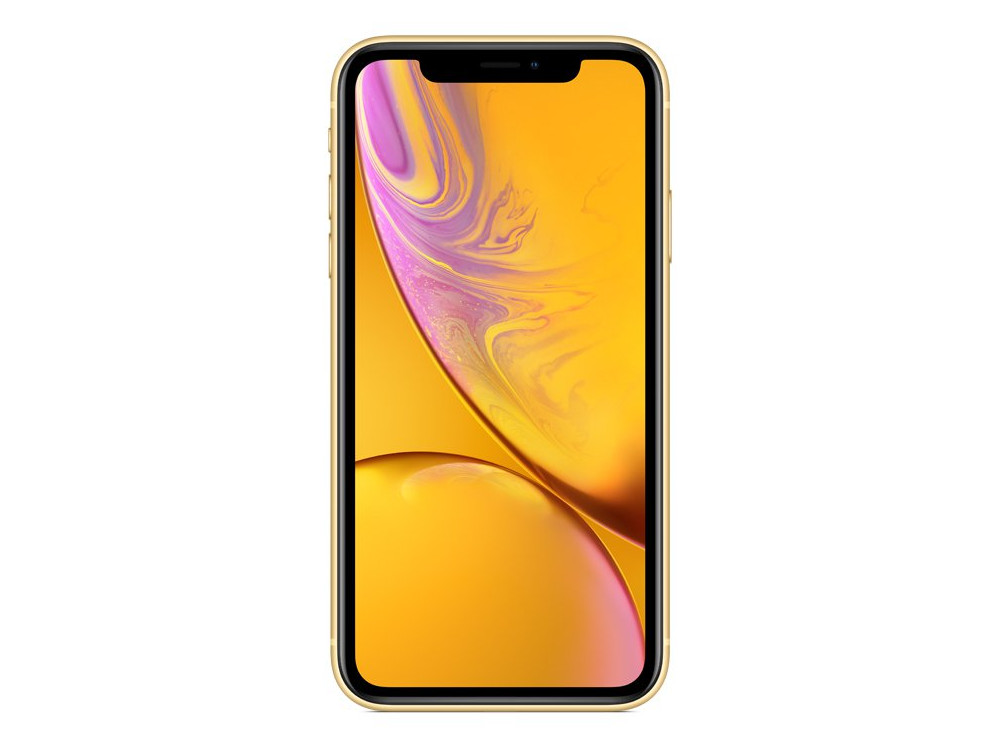 "Смартфон Apple iPhone XR 128GB Yellow (MRYF2RU/A) Apple A12 Bionic / 128GB / 6.1"" 1792x828 Retina IPS / 12Mp, 7Mp / 3G / 4G LTE / iOS"