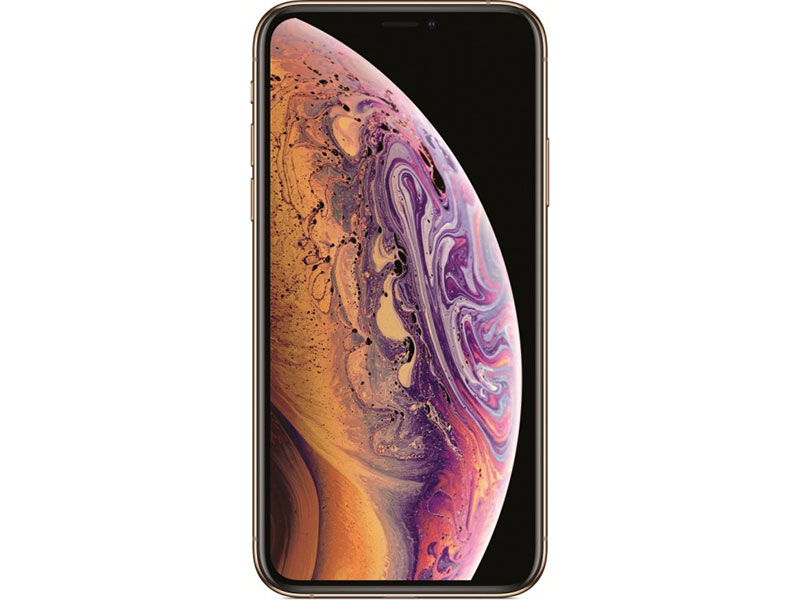 "Смартфон Apple iPhone XS 64GB Gold MT9G2RU/A Apple A12/3 Gb/64 Gb/5.8""(2436x1125)/12+12Mpix/3G/4G/BT/iOS 12"