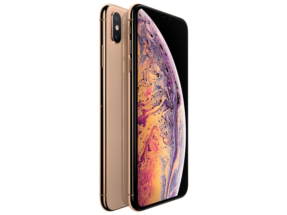 Смартфон Apple iPhone XS Max 256GB Gold (MT552RU/A) Apple A12 / 3GB / 256GB / 6.5 2688x1242 / 12+12Mp, 7Mp / 3G / 4G LTE / GPS / iOS сотовый телефон apple iphone xs max 256gb gold mt552ru a
