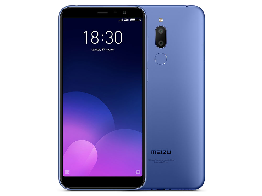 Смартфон Meizu M6Т 32Gb (M811H) Blue MediaTek MT6750 (1.5)/32 Gb/3 Gb/5.7 (1440x720)/DualSim/3G/4G/BT/Android 7.0 смартфон lg k430ds k10 lgk430ds aciswh white mediatek mt6753 1 3 16 gb 1 5 gb 5 3 1280x720 dualsim 3g 4g bt android 6 0