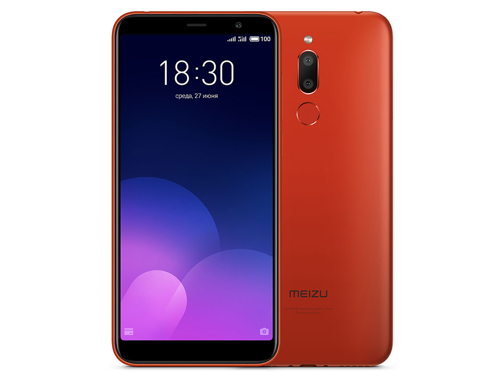 Смартфон Meizu M6Т 32Gb (M811H) Red MediaTek MT6750 (1.5)/32 Gb/3 Gb/5.7 (1440x720)/DualSim/3G/4G/BT/Android 7.0 смартфон neffos c9a moonlight silver tp706a64ru mediatek mt6750 1 3 16 gb 2 gb 5 5 1280x720 dualsim 3g 4g bt android 7 0