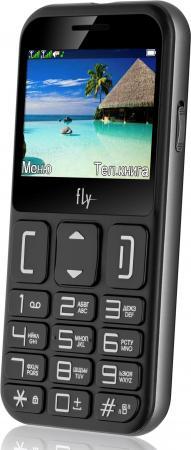 Мобильный телефон Fly Ezzy 9 черный 2.3 32 Мб мобильный телефон fly ff281 черный