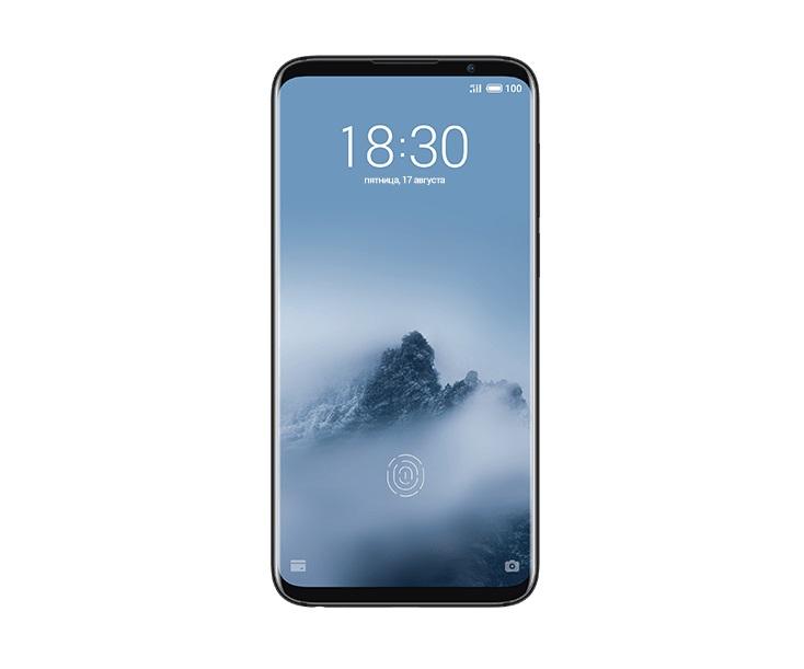 Смартфон Meizu 16TH 128Gb (M882H) Midnight Black Qualcomm Snapdragon 845 (1.8)/128 Gb/8 Gb/6.0 (2160x1080)/DualSim/3G/4G/BT/Android 8.0 смартфон meizu pro7 plus 128gb 6gb space black m793h