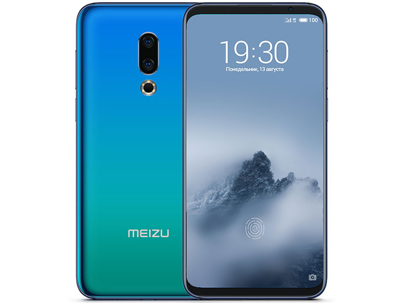 Смартфон Meizu 16TH 128Gb (M882H) Aurora Blue Qualcomm Snapdragon 845 (1.8)/128 Gb/8 Gb/6.0 (2160x1080)/DualSim/3G/4G/BT/Android 8.0 смартфон nubia z17 lite blue gold qualcomm snapdragon 653 1 95 64 gb 8 gb 5 5 1920x1080 dualsim 3g 4g bt android 7 1