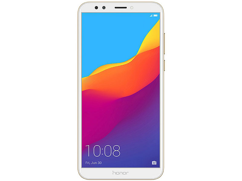 Смартфон Honor 7C Pro (LND-L29) Gold Qualcomm Snapdragon 450 (1.8)/32 Gb/3 Gb/5.99 (1440x720)/DualSim/3G/4G/BT/Android 8.0 смартфон nubia z17 lite blue gold qualcomm snapdragon 653 1 95 64 gb 8 gb 5 5 1920x1080 dualsim 3g 4g bt android 7 1