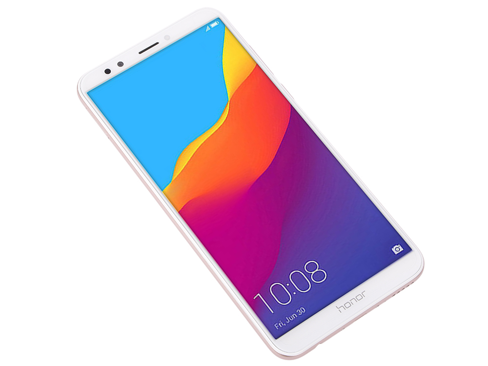 Смартфон Honor 7C Pro (LND-L29) Gold Qualcomm Snapdragon 450 (1.8)/32 Gb/3 Gb/5.99 (1440x720)/DualSim/3G/4G/BT/Android 8.0 смартфон honor 7c 32 гб синий 51092mnt