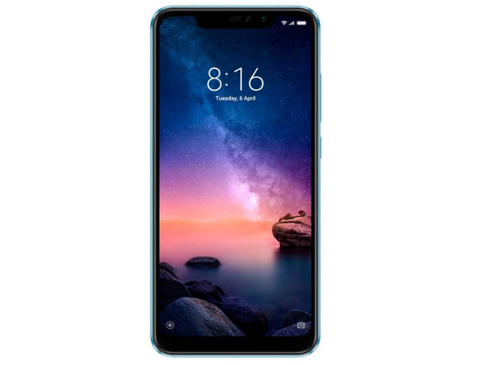 Смартфон Xiaomi Redmi Note 6 Pro Blue Qualcomm Snapdragon 636 (1.8)/32 Gb/3 Gb/6.26 (2280x1080)/DualSim/3G/4G/BT/Android 8.1 смартфон xiaomi note 6 pro 32 gb черный