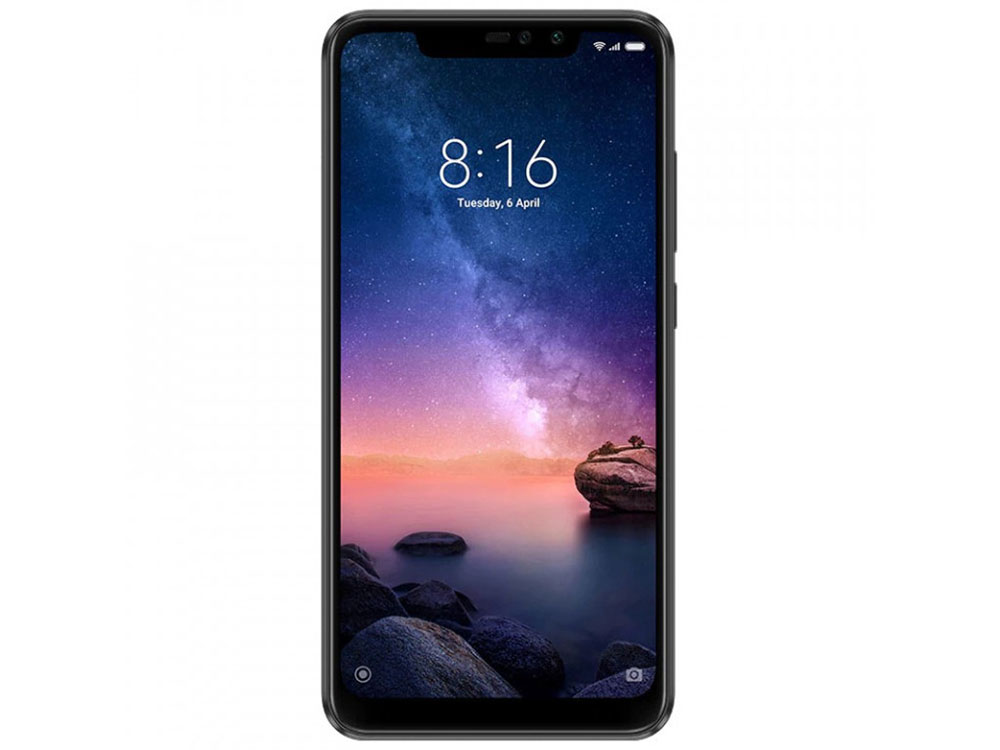 Смартфон Xiaomi Redmi Note 6 Pro Black Qualcomm Snapdragon 636 (1.8)/64 Gb/4 Gb/6.26 (2280x1080)/DualSim/3G/4G/BT/Android 8.1 смартфон xiaomi note 6 pro 32 gb черный