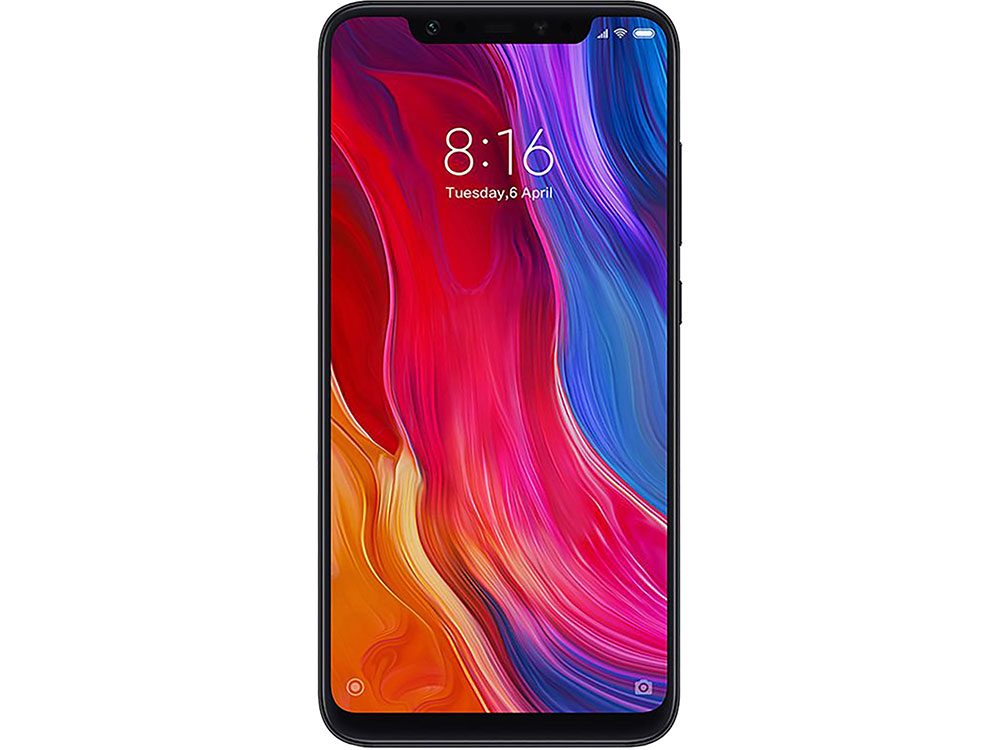 Смартфон Xiaomi Mi 8 64 Black Qualcomm Snapdragon 845 (2.8+1.7)/64 Gb/6 Gb/6.21 (2248x1080)/DualSim/3G/4G/BT/Android 8.1 смартфон nubia z17 lite blue gold qualcomm snapdragon 653 1 95 64 gb 8 gb 5 5 1920x1080 dualsim 3g 4g bt android 7 1
