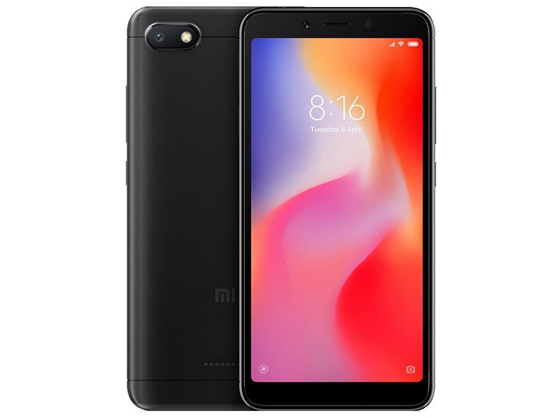 Смартфон Xiaomi Redmi 6A Black 4 Core(2.0GHz)/2GB/32GB/5.45'' 1440x720/13Mp+5Mp/2 Sim/3G/LTE/BT/Wi-Fi/GPS/Glonas/Android 8.1 landvo l200g 5 0 quad core android 4 4 2 fdd lte 4g smart phone w 1gb ram 4gb rom wi fi black