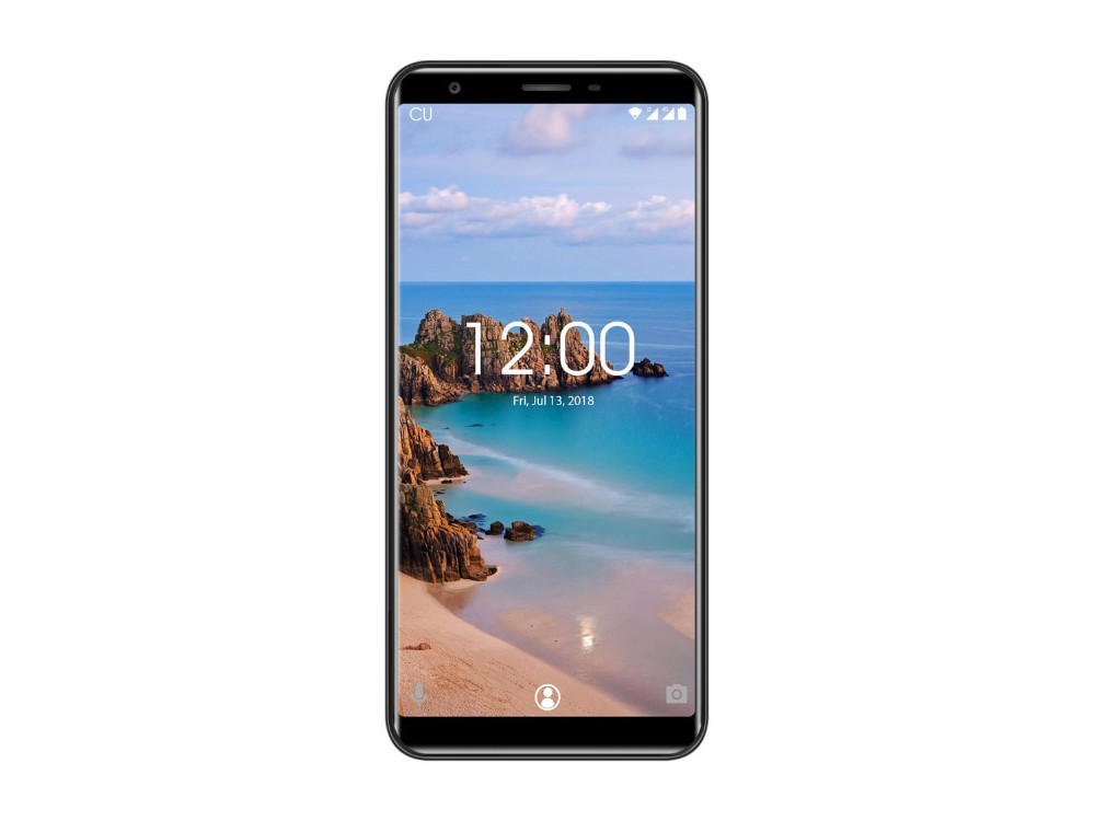 Смартфон Oukitel C11 Pro 4G Black 4 Core (1.3GHz)/3GB/16GB/5.45 1440*720/8Mp/2Mp/2Sim/3G/4G/BT/WiFi/GPS/Android [genuine] t95u pro android 6 0 smart tv box amlogic s912 octa core 2gb 16gb 2 4 5ghz dual wifi vp9 h 265 uhd 4k media player