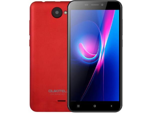 Смартфон Oukitel C9 3G (Red) MediaTek MT6580A (1.3) / 1GB / 8GB / 5.0