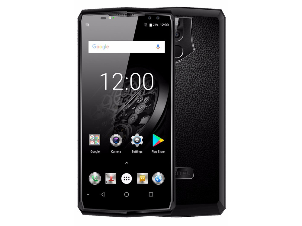 Смартфон Oukitel K10 4G Black 8 Core (2.0GHz)/6GB/64GB/6.0 2160*1080/21Mp+8MP/13Mp+8Mp/2Sim/3G/4G/BT/WiFi/NFC/GPS/Android pda3501 1d 2d laser barcode scanner portatif android handheld terminal reader wifi rugged phone data collector 3 5 pda nfc 3g