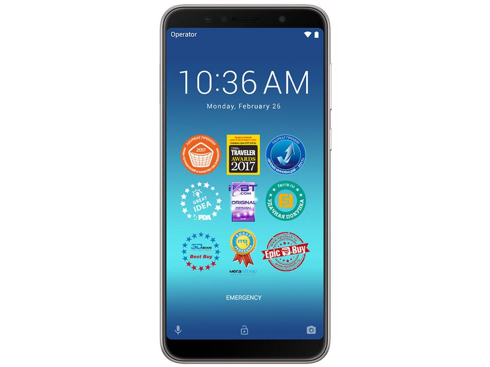 Смартфон Asus ZenFone Max Pro M1 (ZB602KL/Meteor Silver) Qualcomm SDM636 (1.8)/128 Gb/4 Gb/6 (2160x1080)/DualSim/3G/4G/BT/Android 8.1 сотовый телефон asus zenfone max m1 zb555kl 16gb
