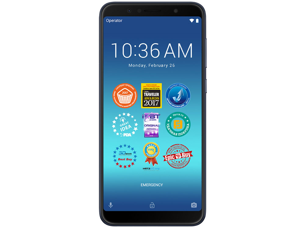 Смартфон Asus ZenFone Max Pro M1 (ZB602KL/Deepsea Black) Qualcomm SDM636 (1.8)/128 Gb/4 Gb/6 (2160x1080)/DualSim/3G/4G/BT/Android 8.1 смартфон xiaomi redmi note 6 pro black qualcomm snapdragon 636 1 8 32 gb 3 gb 6 26 2280x1080 dualsim 3g 4g bt android 8 1