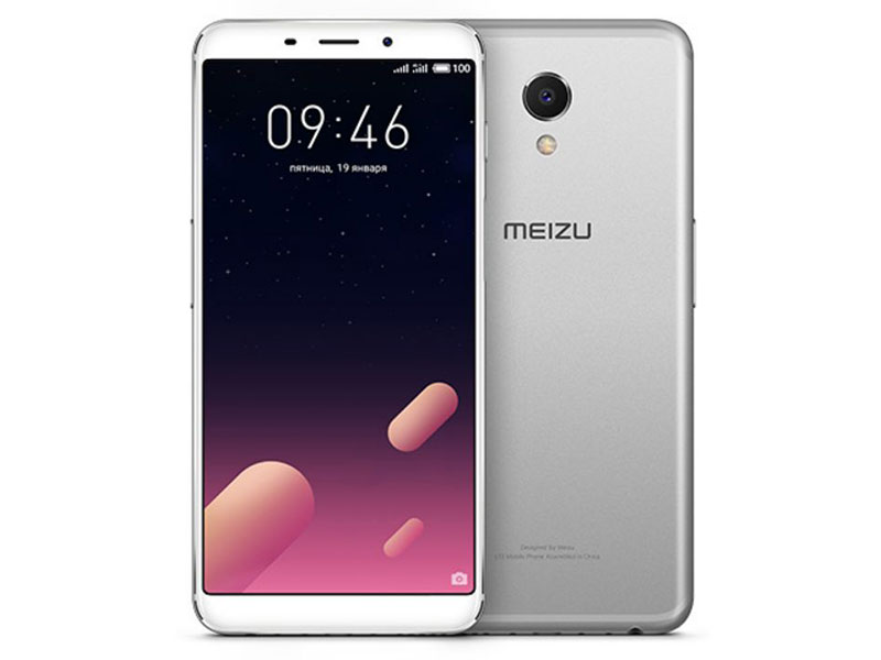 Смартфон Meizu M6s 32Gb (Silver) Samsung Exynos 7872 (2.0)/32 Gb/3 Gb/5.7 (1440x720)/DualSim/3G/4G/BT/Android 7.1 new 2 fold folio pu leather stand cover case for onda v10 3g 4g call phone 10 1inch tablet pc black and white color gift