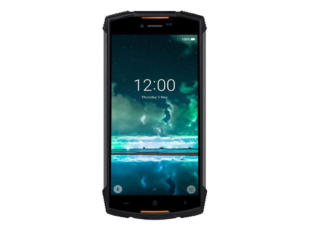 Смартфон Doogee S55 LITE (Fire Orange) MediaTek MT6739 (1.5) / 2GB / 16GB / 5.5'' 1440x720 IPS / 2Sim / 3G / 4G LTE / FPR / 13Mp + 8Mp, 5Mp / Android 8.0 for amazon 2017 new kindle fire hd 8 armor shockproof hybrid heavy duty protective stand cover case for kindle fire hd8 2017