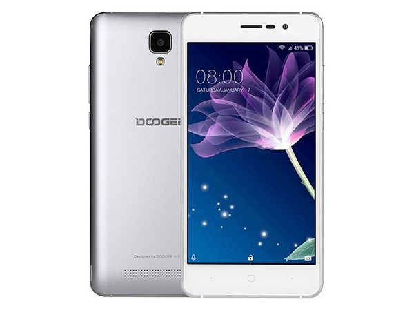 Смартфон Doogee X10s (Galaxy Grey) MediaTek MT6570 (1.3) / 1GB / 8GB / 5'' 1280x720 IPS / 2Sim / 3G / 5Mp, 2Mp / Android 8.1