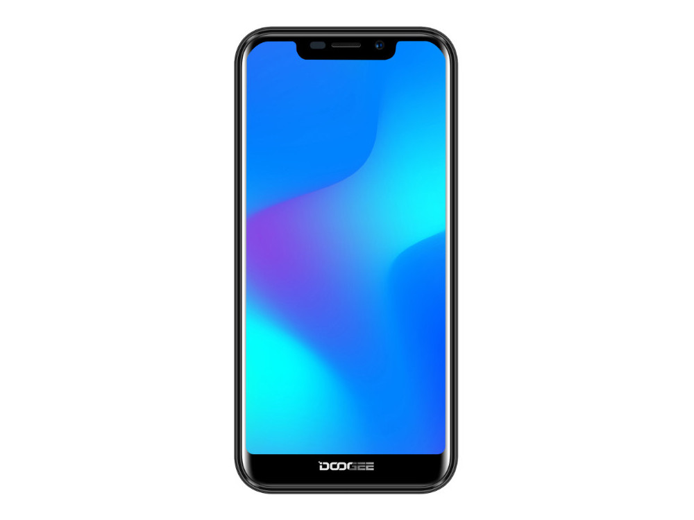 Смартфон Doogee X70 (Black) MediaTek MT6580 (1.3) / 2GB / 16GB / 5.5'' 1132x540 / 2Sim / 3G / 8Mp + 5Mp, 5Mp / Android 8.1 смартфон bq 5594 strike power max black mediatek mt6580 1 3 1gb 8gb 5 5 1280х720 ips 2sim 8mp 5mp cam android 7 0