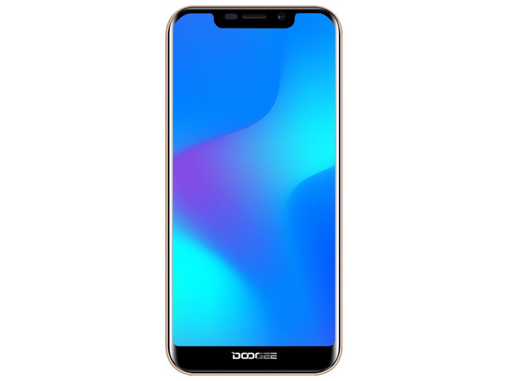 Смартфон Doogee X70 (Gold) MediaTek MT6580 (1.3) / 2GB / 16GB / 5.5'' 1132x540 / 2Sim / 3G / 8Mp + 5Mp, 5Mp / Android 8.1