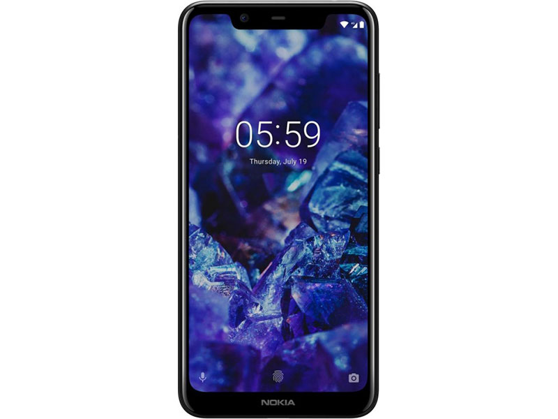 Смартфон Nokia 5.1 Plus DS (TA-1105) Black MediaTek MT6771/5.8 (1520x720)/3G/4G/3Gb/32Gb/13Mp+5Mp/8Mp/Android 8.0 смартфон nokia 7 plus черный