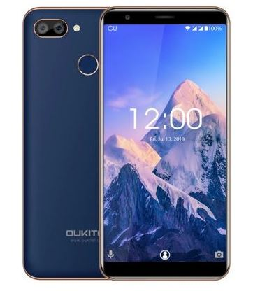 Смартфон Oukitel C11 Pro 4G Blue 4 Core (1.3GHz)/3GB/16GB/5.45 1440*720/8Mp/2Mp/2Sim/3G/4G/BT/WiFi/GPS/Android [genuine] t95u pro android 6 0 smart tv box amlogic s912 octa core 2gb 16gb 2 4 5ghz dual wifi vp9 h 265 uhd 4k media player