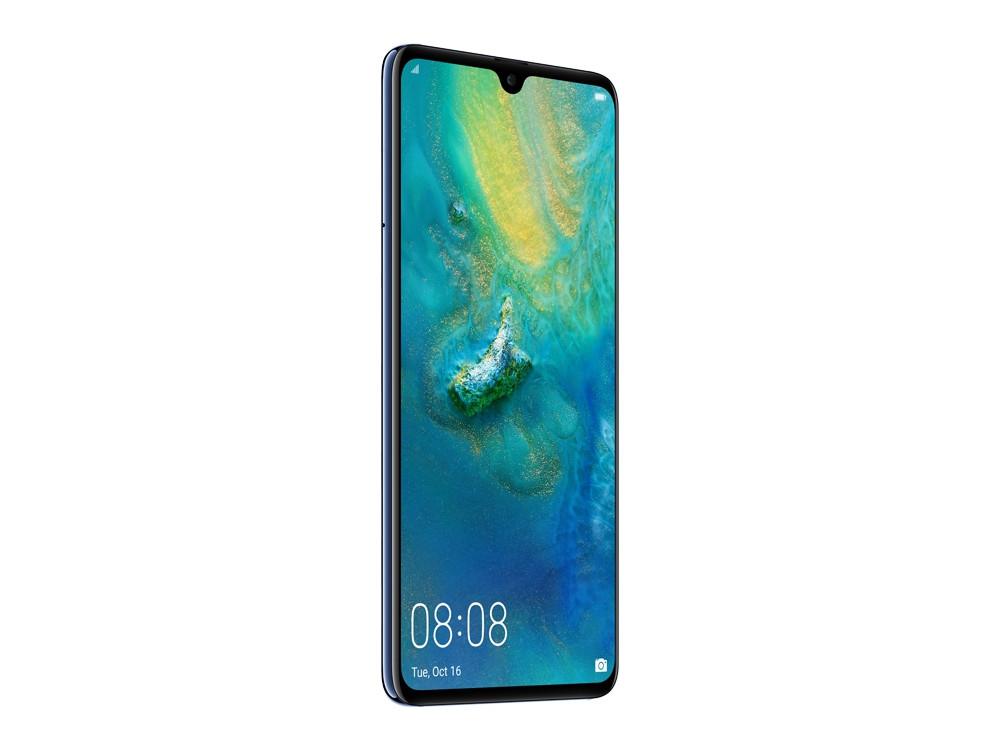 Смартфон Huawei Mate 20 (Midnight Blue) HiSilicon Kirin 980 (2.6) / 6GB / 128GB / 6.53 2244x1080 / 2Sim / 3G / 4G LTE / 12Mp + 16Mp + 8Mp, 24Mp / Android 9.0 смартфон huawei mate 20 lite sne lx1 blue hisilicon kirin 710 2 2 64 gb 4 gb 6 3 2340x1080 dualsim 3g 4g bt android 8 1