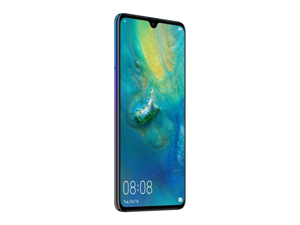 Смартфон Huawei Mate 20 (Twilight) HiSilicon Kirin 980 (2.6) / 6GB / 128GB / 6.53 2244x1080 / 2Sim / 3G / 4G LTE / 12Mp + 16Mp + 8Mp, 24Mp / Android 9.0 huawei mate 9 mha al00 6gb 128gb smartphone champagne gold