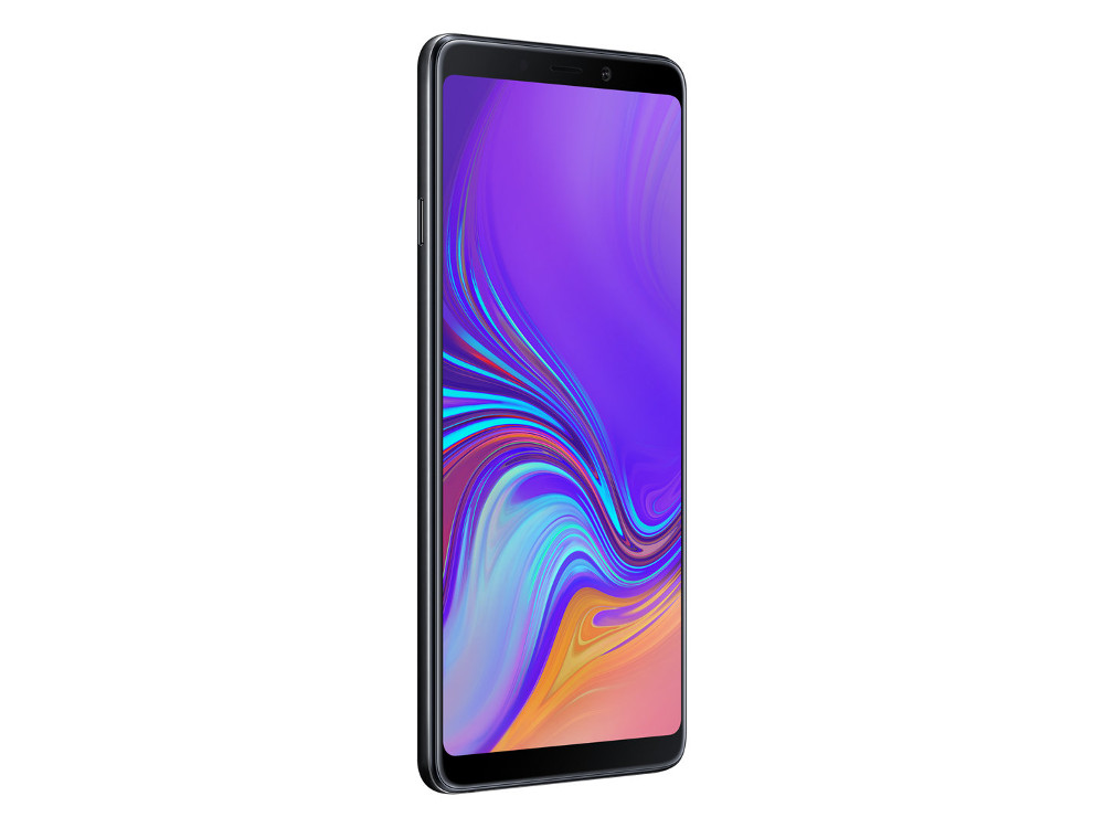 Смартфон Samsung Galaxy A9 (2018) SM-A920 (Black) Qualcomm Snapdragon 660 (2.2) / 6GB / 128GB / 6.3 2220x1080 AMOLED / 2Sim / 3G / 4G LTE / 24Mp + 8Mp + 10Mp + 5M, 24Mp / Android 8.0 (SM-A920FZKDSER) смартфон samsung galaxy a8 2018 black sm a530f exynos 7885 2 2 4gb 32gb 5 6 2220x1080 16mp 16mp 8mp 4g lte 2sim android 7 1 sm a530fzkdser