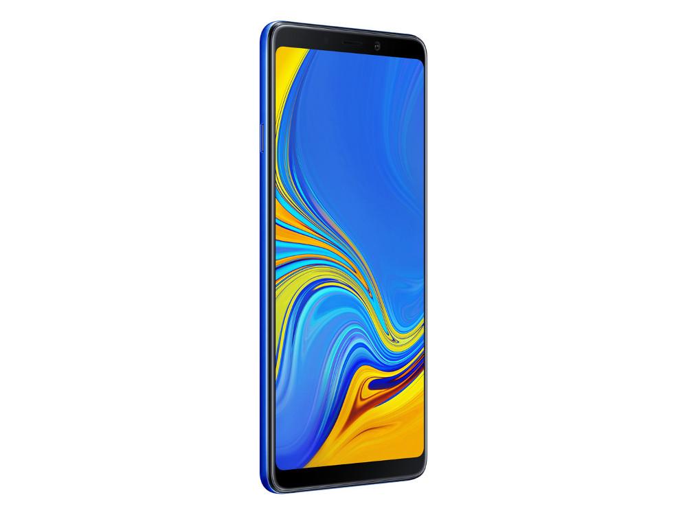 Смартфон Samsung Galaxy A9 (2018) SM-A920 (Blue) Qualcomm Snapdragon 660 (2.2) / 6GB / 128GB / 6.3 2220x1080 AMOLED / 2Sim / 3G / 4G LTE / 24Mp + 8Mp + 10Mp + 5M, 24Mp / Android 8.0 (SM-A920FZBDSER) смартфон samsung galaxy a8 2018 black sm a530f exynos 7885 2 2 4gb 32gb 5 6 2220x1080 16mp 16mp 8mp 4g lte 2sim android 7 1 sm a530fzkdser