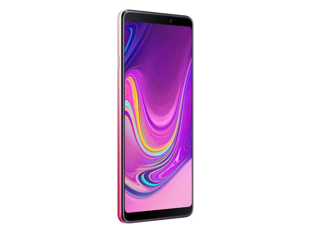 Смартфон Samsung Galaxy A9 (2018) SM-A920 (Pink) Qualcomm Snapdragon 660 (2.2) / 6GB / 128GB / 6.3 2220x1080 AMOLED / 2Sim / 3G / 4G LTE / 24Mp + 8Mp + 10Mp + 5M, 24Mp / Android 8.0 (SM-A920FZIDSER) смартфон samsung galaxy a8 2018 black sm a530f exynos 7885 2 2 4gb 32gb 5 6 2220x1080 16mp 16mp 8mp 4g lte 2sim android 7 1 sm a530fzkdser