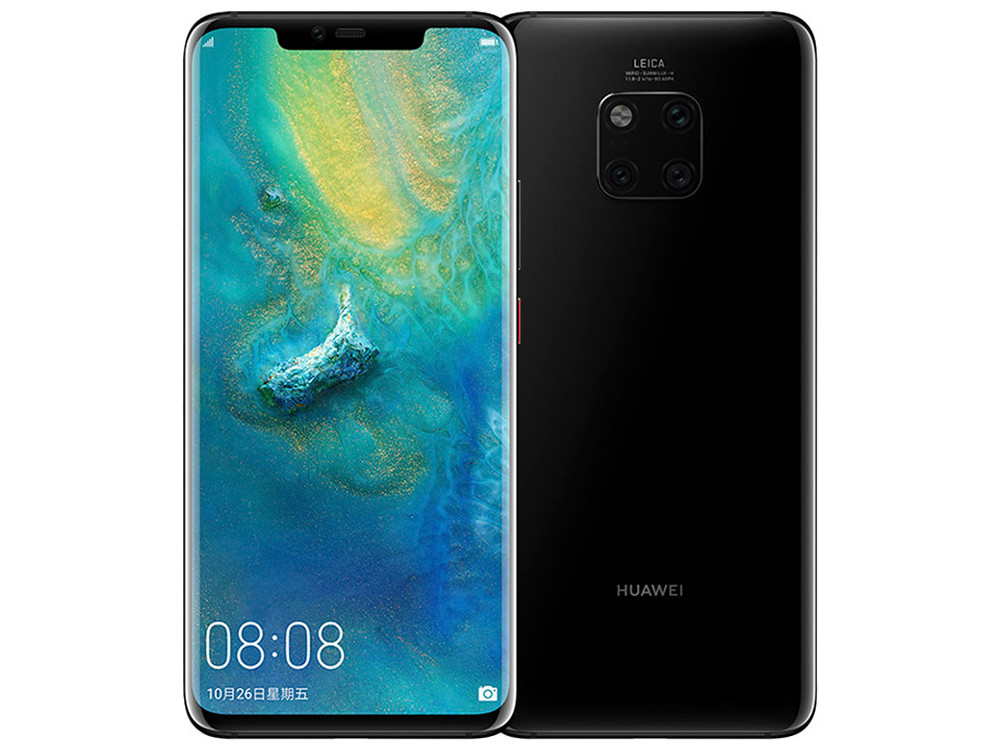 Смартфон Huawei Mate 20 Pro (Carbon Black) HiSilicon Kirin 980 (2.6) / 6GB / 128GB / 6.39 3120x1440 OLED / 40Mp + 20Mp + 8Mp, 24Mp / 3G / 4G LTE / Android 9.0 (51093ABY) 10 1 huawei mediapad m2 10 0 13 0mp octa core 16 гб wifi 4g lte телефон вызова планшетного пк kirin 930 3gb ram android 5 1
