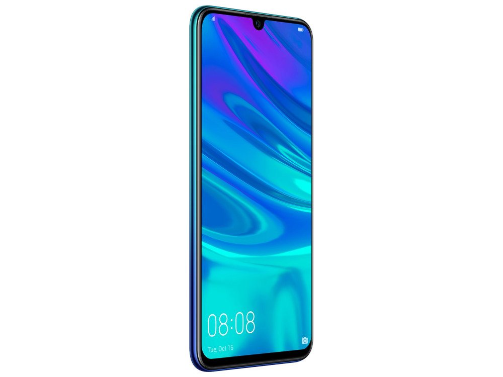 Смартфон Huawei P Smart 2019 (Aurora Blue) HiSilicon Kirin 710 (2.2) / 3GB / 32GB / 6.21 2340x1080 / 13Mp + 2Mp, 16Mp / 3G / 4G LTE / Android 9.0 (51093FUV) смартфон samsung galaxy a8 2018 black sm a530f exynos 7885 2 2 4gb 32gb 5 6 2220x1080 16mp 16mp 8mp 4g lte 2sim android 7 1 sm a530fzkdser