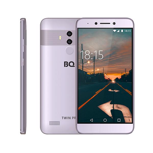 Смартфон BQ-5517L Twin Pro Серый смартфон bq mobile bq 5517l twin pro grey