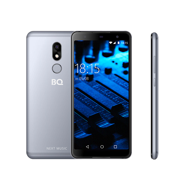 Смартфон BQ-5707G Next Music Серый blackview a8 смартфон