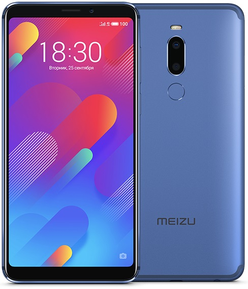 Смартфон Meizu M8 64Gb (Blue) MediaTek MT6762 (2.0)/64 Gb/4 Gb/5.7 (1440x720)/DualSim/3G/4G/BT/Android 8 meizu смартфон meizu pro 7 64gb золотой gold