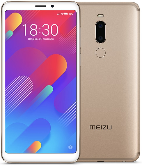 Смартфон Meizu M8 64Gb (Gold) MediaTek MT6762 (2.0)/64 Gb/4 Gb/5.7 (1440x720)/DualSim/3G/4G/BT/Android 8 meizu смартфон meizu pro 7 64gb золотой gold