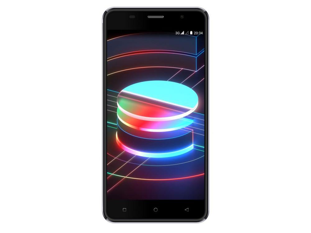 цены Смартфон Digma Linx X1 3G 16Gb 1Gb черный 3G 2Sim 5