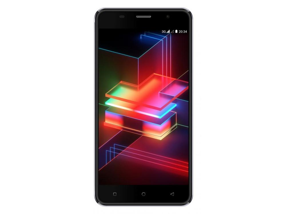 цена на Смартфон Digma Linx X1 Pro 3G 16Gb 2Gb черный 3G 2Sim 5 IPS 720x1280 And8.1