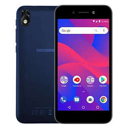 Смартфон Doogee X11 Blue MediaTek MT6580 (1.3)/8 Gb/1 Gb/5 (854x480)/DualSim/3G/BT/Android 8.1 смартфон doogee x11 silver