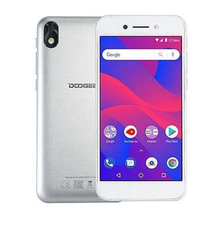 Смартфон Doogee X11 Silver MediaTek MT6580 (1.3)/8 Gb/1 Gb/5 (854x480)/DualSim/3G/BT/Android 8.1 смартфон bq bq 5510 strike power max 4g золотистый mediatek mt6737 1гб 8 гб 5 5 1280x720 13mpix dualsim 3g 4g bt android 7 0