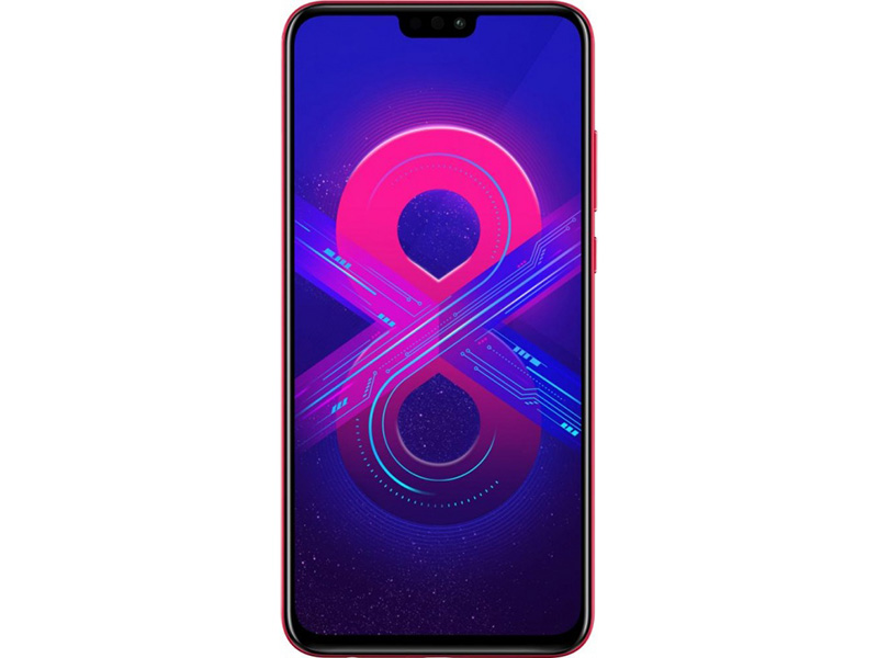 Смартфон honor 8x 128gb (jsn-l21) red kirin 710 (2.2)/128 gb/4 gb/6.5 (2340x1080)/dualsim/3g/4g/bt/android 8.1