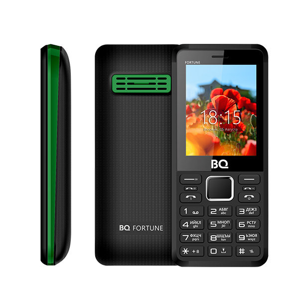BQ-2436 Fortune P Black+Green d861bt black green