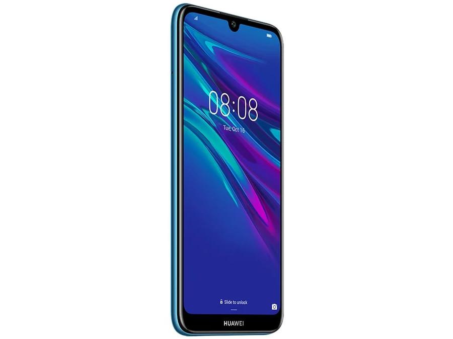"Смартфон Huawei Y6 2019 (Sapphire Blue) MediaTek Helio A22 (2.0) / 2GB / 32GB / 6.1"" 1560x720 / 2Sim / 3G / 4G LTE / 13Mp, 2Mp / Android 8.0 (51093KWP)"