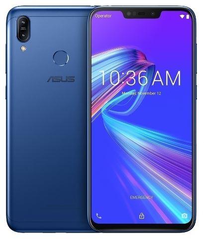 "Смартфон Asus ZenFone Max M2 (ZB633KL-4D009RU) Blue 6.3"" HD+19:9 Notch/SD632/4GB/64GB/And 8.1/13MP/2+8MP/4000mAh"