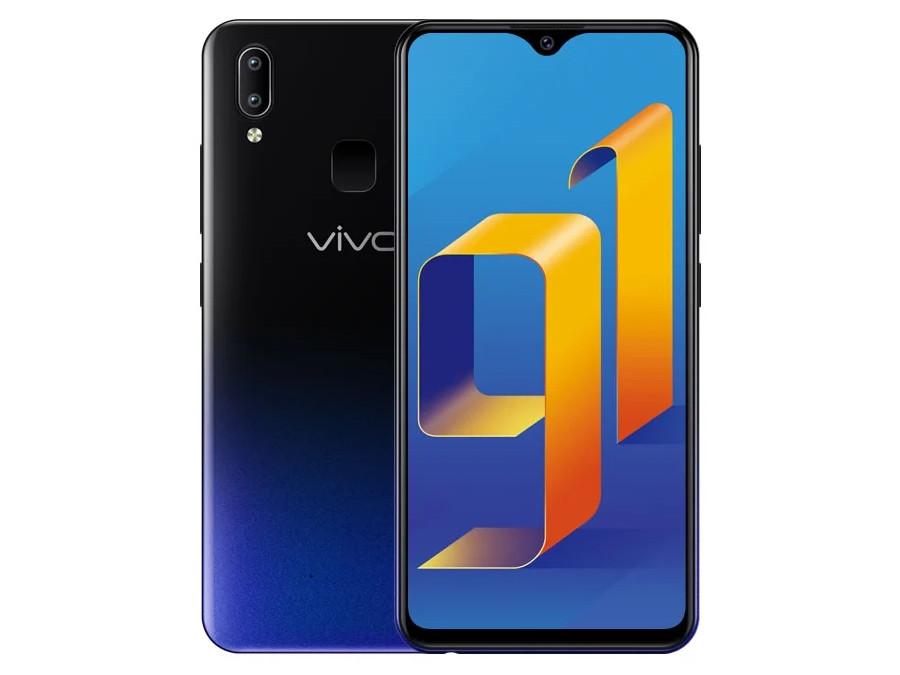 цена Смартфон Vivo Y91 3Gb+64Gb Black