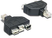 Адаптер Trendnet TC-NTUF (для тестера TC-NT2) для проверки кабелей USB и Firewire, компл. 2 шт.