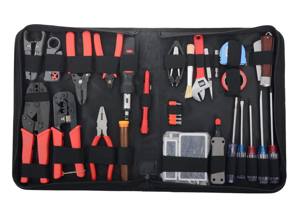 Набор инструментов Gembird TK-NETWORK набор инструментов gembird tk pro 01 48 предметов