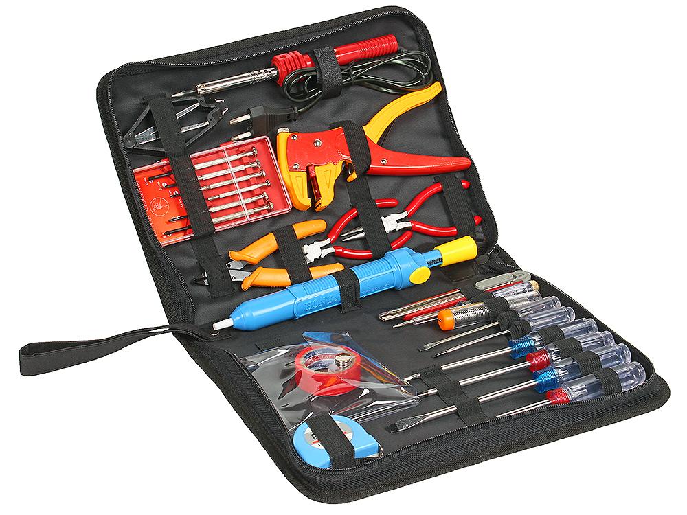 Набор инструментов Cablexpert TK-HOME-01 (24 предмета) набор инструмента cablexpert tk pro 01